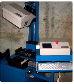 Lot of machines have been supplied to Wipro Bangalore & Chennai for marking on hydraulic cylinder & some of other hydraulic components. All machines have been designed keeping in mind the verity of components to be fixtures. For example the picture on righ shows marking head mounted on pneumatic slide for up down movement used for marking only on cylinders. The one on left shows three separate fixtures & marking head which can be moved in 3 different directions by providing manual slides. This can be auto missed by providing servo motors. This particular workstation is used for flat, round & axial marking of hydraulic components.